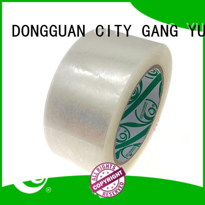 Gangyuan super clear adhesive tape wholesale for home mailing