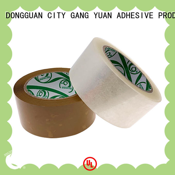 Gangyuan super clear bopp tape supplier for moving boxes