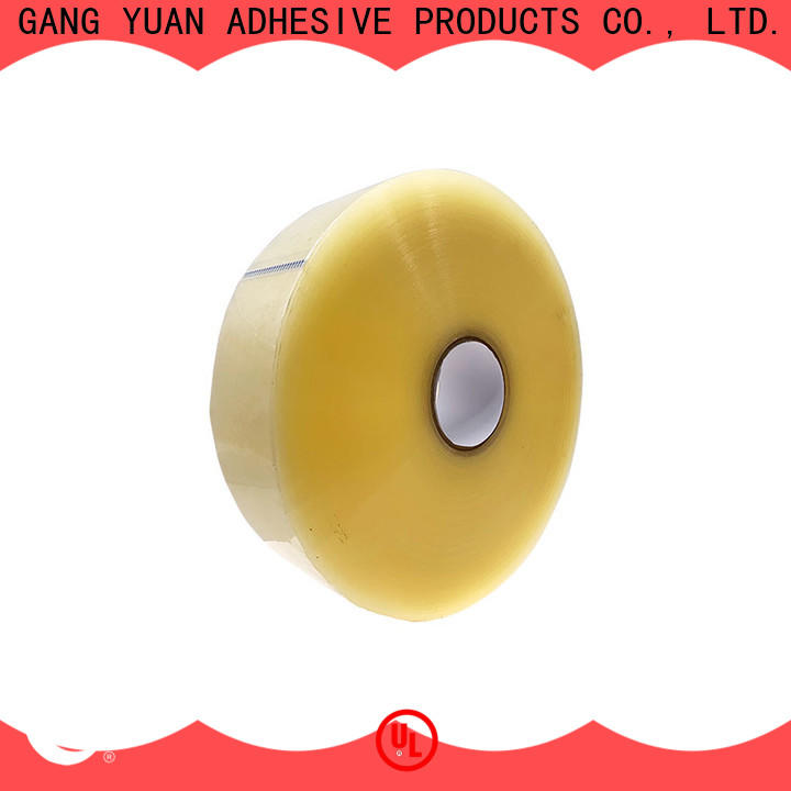 Gangyuan super clear adhesive tape wholesale for moving boxes