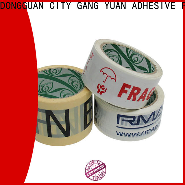 Gangyuan no noise paper packaging tape manufacturers