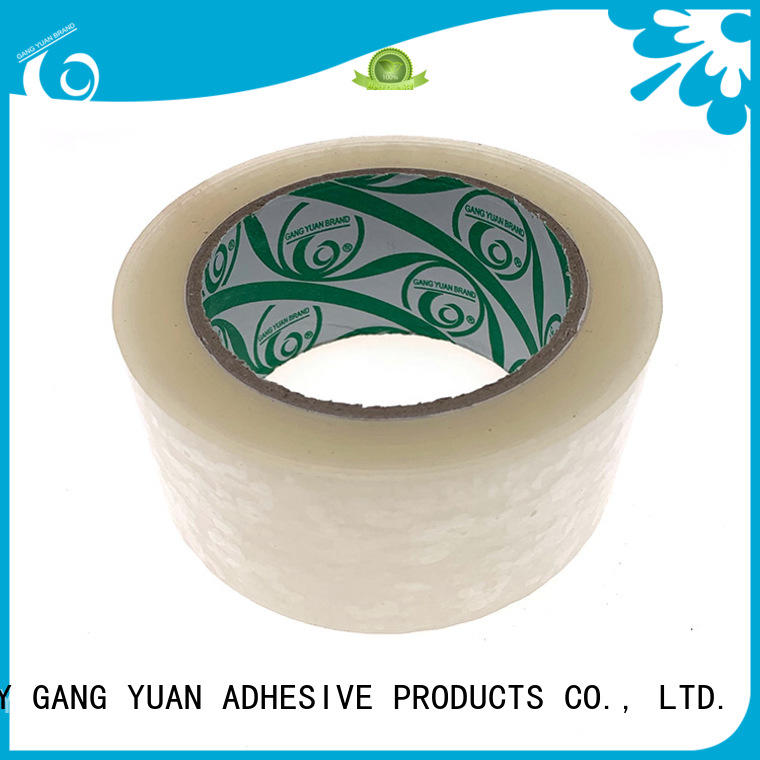 Gangyuan adhesive tape supplier for carton sealing