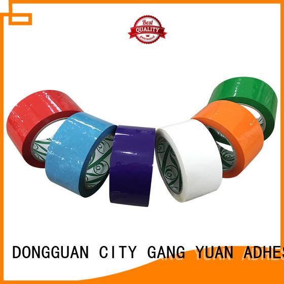 Gangyuan bopp tape supplier for carton sealing