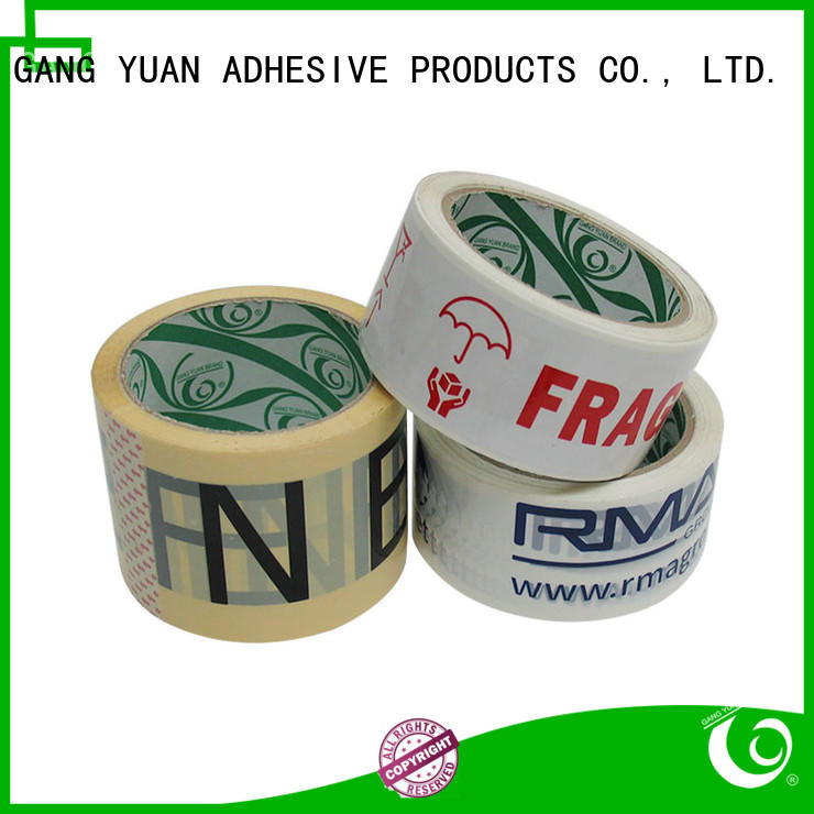 Gangyuan bopp tape wholesale for home mailing
