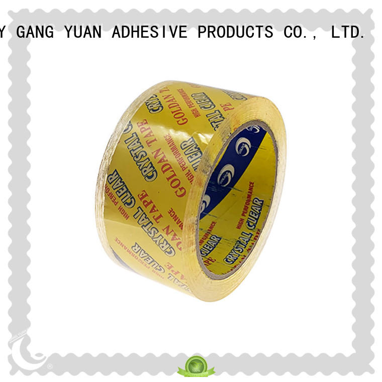 Gangyuan color opp tape supplier for moving boxes