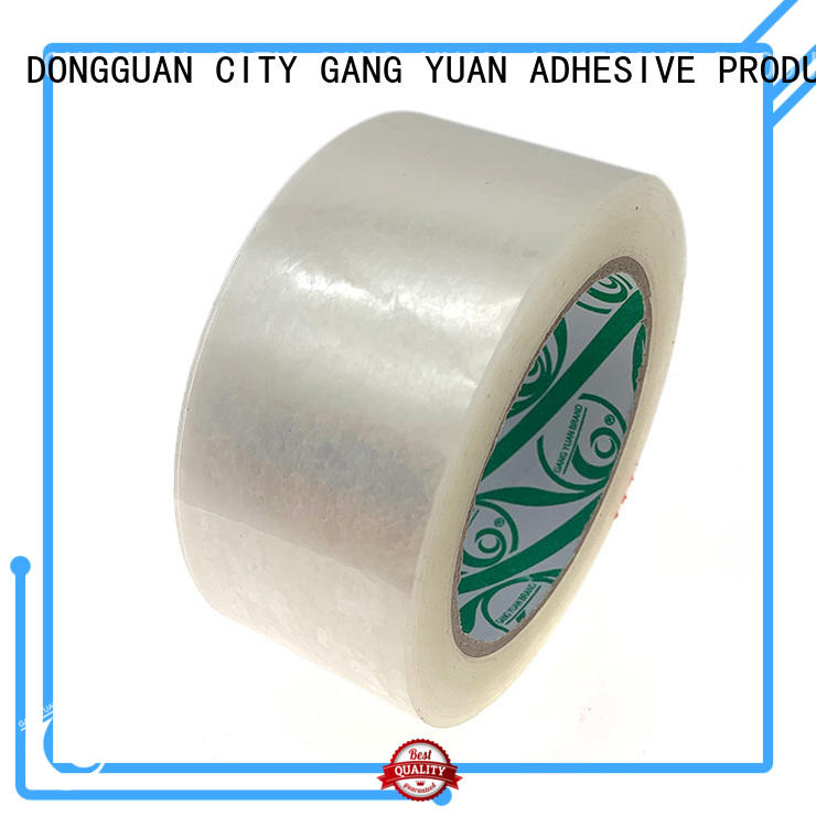 Gangyuan color adhesive tape supplier for carton sealing