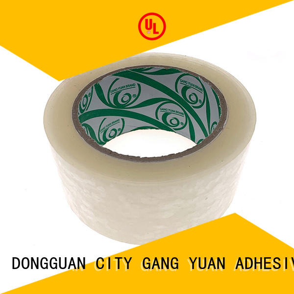 Gangyuan color bopp tape wholesale for home mailing