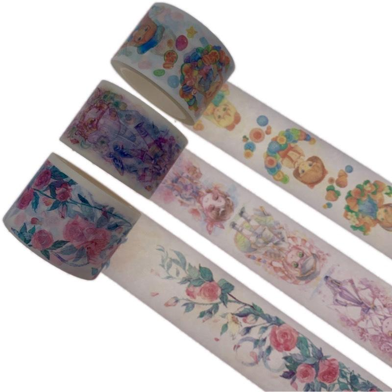 Custom Washi Tape Wide Vintage  Washi Tape