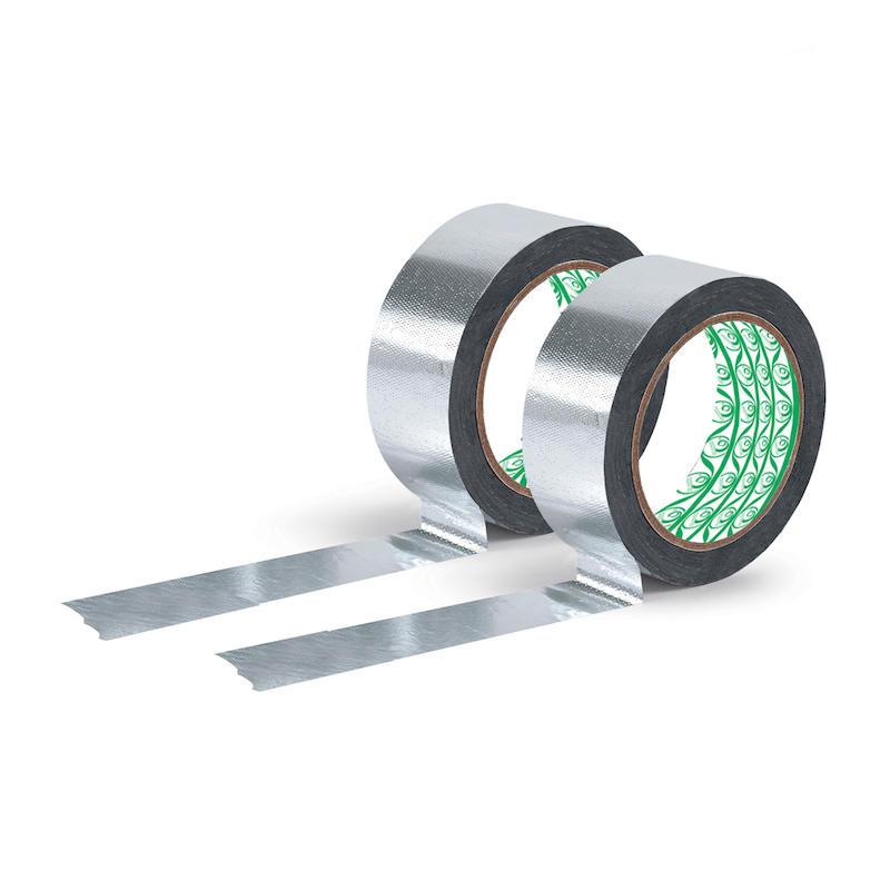 Reinforced Aluminum Adhesive Tape With Fiberglass
