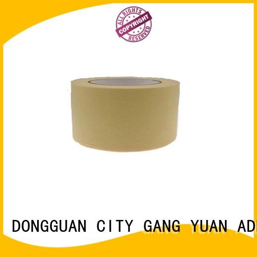 Gangyuan high temperature China masking tape reputable manufacturer for Outdoors