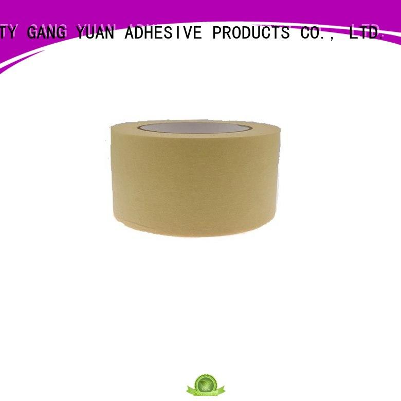 Gangyuan low temperature masking tape painting reputable manufacturer for Outdoors