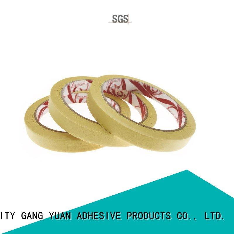 Gangyuan clear masking tape factory price for indoors