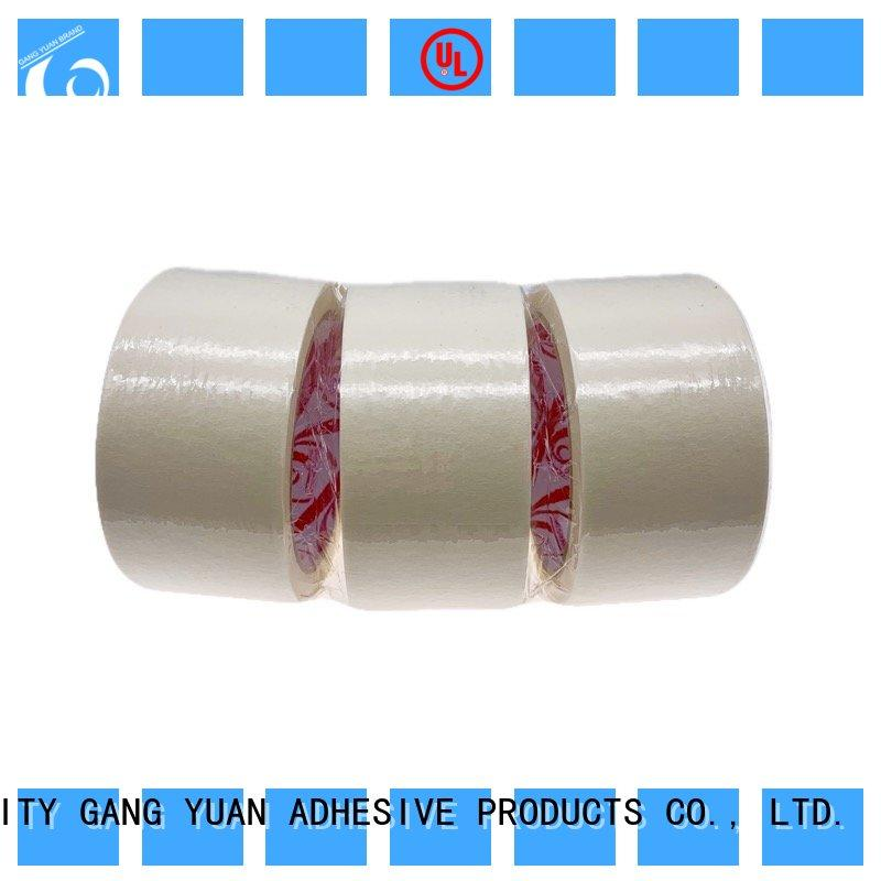 Gangyuan China masking tape reputable manufacturer for various surfaces