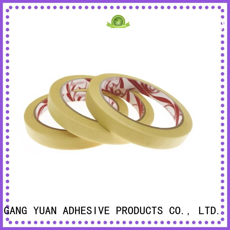 Gangyuan high temperature China masking tape order now for indoors