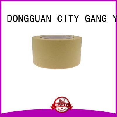 Gangyuan high temperature masking tape painting reputable manufacturer for various surfaces